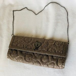Handbags - Quilted Heart Clutch